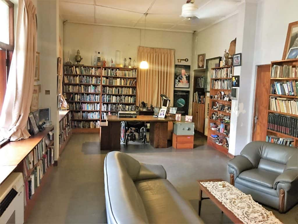 Arthur C. Clarke's home office