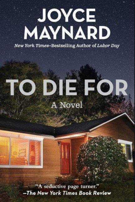 To Die for Cover, Joyce Maynard